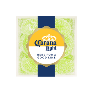 """Sugarfina + Corona Light Candy Cube - """"Here for a Good Lime"""""""