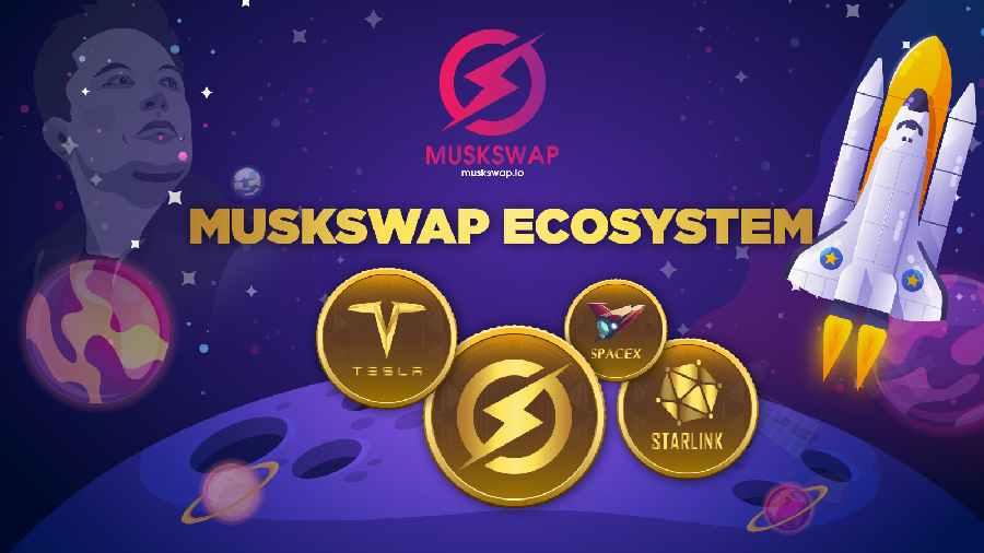 MuskSwap Announces Token Sale for Its Native Token Named $MUSK 2