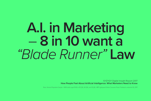 "SYZYGY Uncovers ""Blade Runner"" Rule that Governs Use of A.I. in Marketing"
