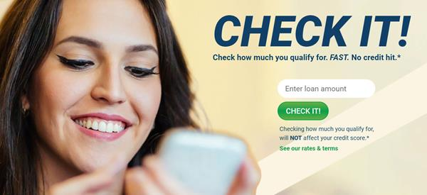 Picture One: Check It   On Minute Loan Center's website you can now check what loan amount you qualify for without having a credit check or a hit to your FICO score.  For more information on Minute Loan Center visit their website at www.MinuteLoanCenter.com / #MinuteLoanCenter