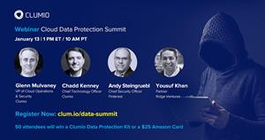Join the Clumio Cloud Data Protection Summit on Jan. 13, 2021 to discuss the risk of cyber attacks, ransomware, and data. Expert panelists will share how to remain resilient and recover if your organization is targeted in a cybersecurity attack. Register today!