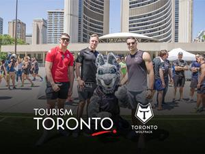 Toronto Wolfpack at Rugby in the Square - Toronto City Hall