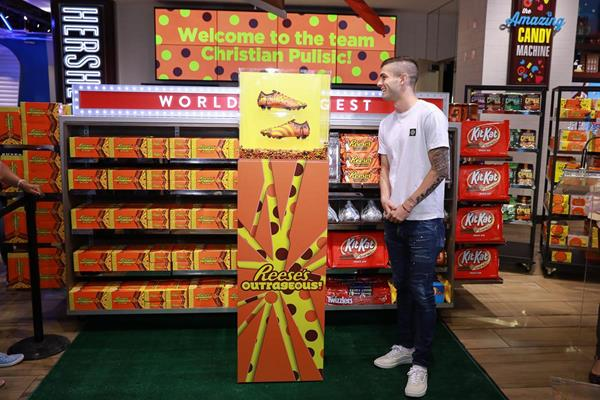 The Hershey Company Teams Up With Hershey Native & Soccer Phenom Christian Pulisic