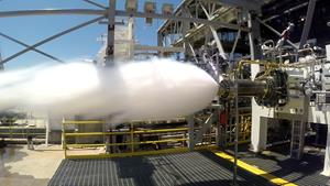 AR1 Successful Engine Preburner Test