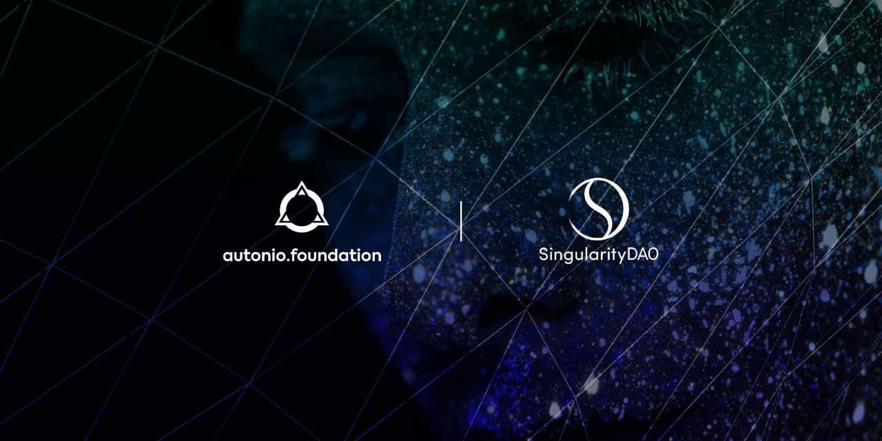 Autonio, SingularityDAO Sign AI Licensing Deal 1