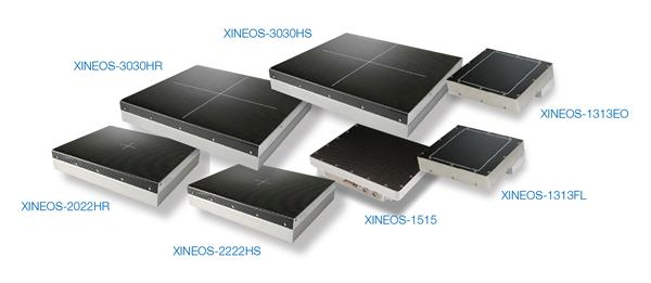 Xineos Family of Interventional CMOS detectors
