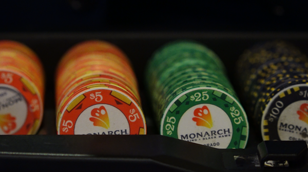 """Bet on a great career at Monarch Casino Resort Spa! Monarch Casino Resort Spa offers excellent benefits, generous tuition reimbursement, advancement opportunities, and flexible work schedules, among other great perks. Text """"MONARCH"""" to 97211 or go to jobs.monarchblackhawk.com for more information."""