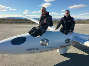 Airbus Perlan Mission II -- a new world record