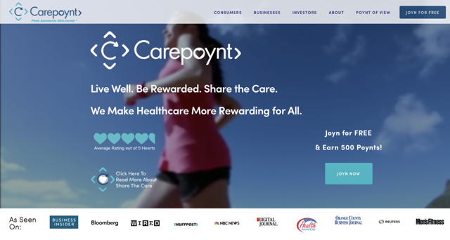 Carepoynt Main Page