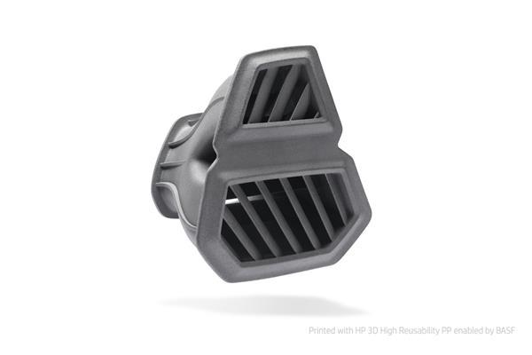 HP 3D printed door defroster
