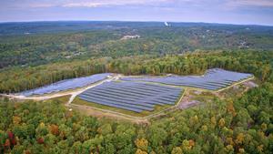 Dudley River Solar Project, Southbridge, MA