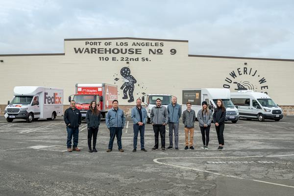 SEA Electric US-based global headquarters team