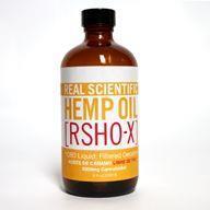 RSHO-X cannabidiol (CBD) hemp oil