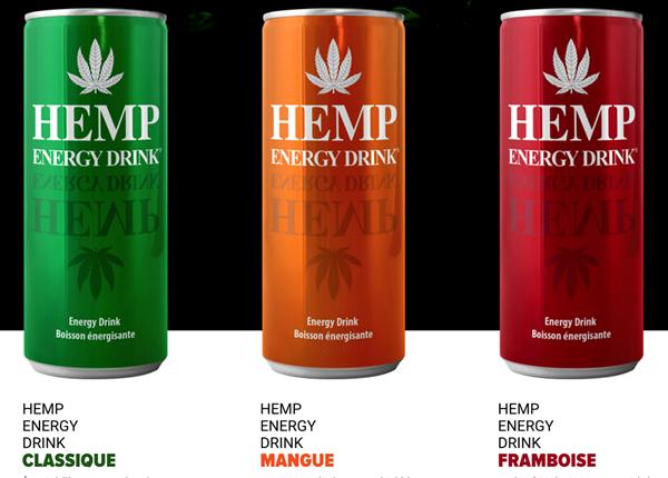 3 saveurs Hemp Ener Drink 11.1.2018