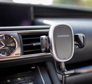 Wirelessly Charge And Mount Your Phone In The Car With Puregear Autogrip Wireless Charger