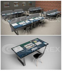 Cemtrex Concept Smart Desk Design