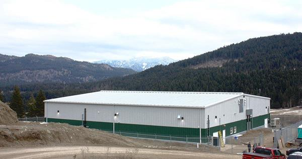 The Initial Phase Construction of Purpose-Built Indoor Facility Tumbleweed Farms