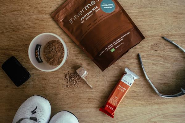 Innerme sports food is 100 percent natural and plant-based.