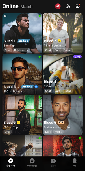 Blued introduces photo verification feature and simplified interface for users in Latin America