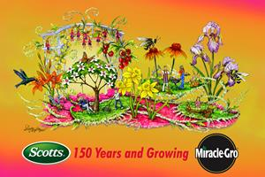 2017 Miracle-Gro Rose Parade Rendering