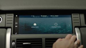 Gentex's HomeLink Connect on Center Console Touch Screen