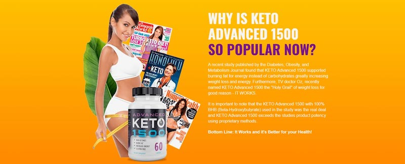Keto Advanced 1500 Reviews - Safe Weight Loss Supplement or