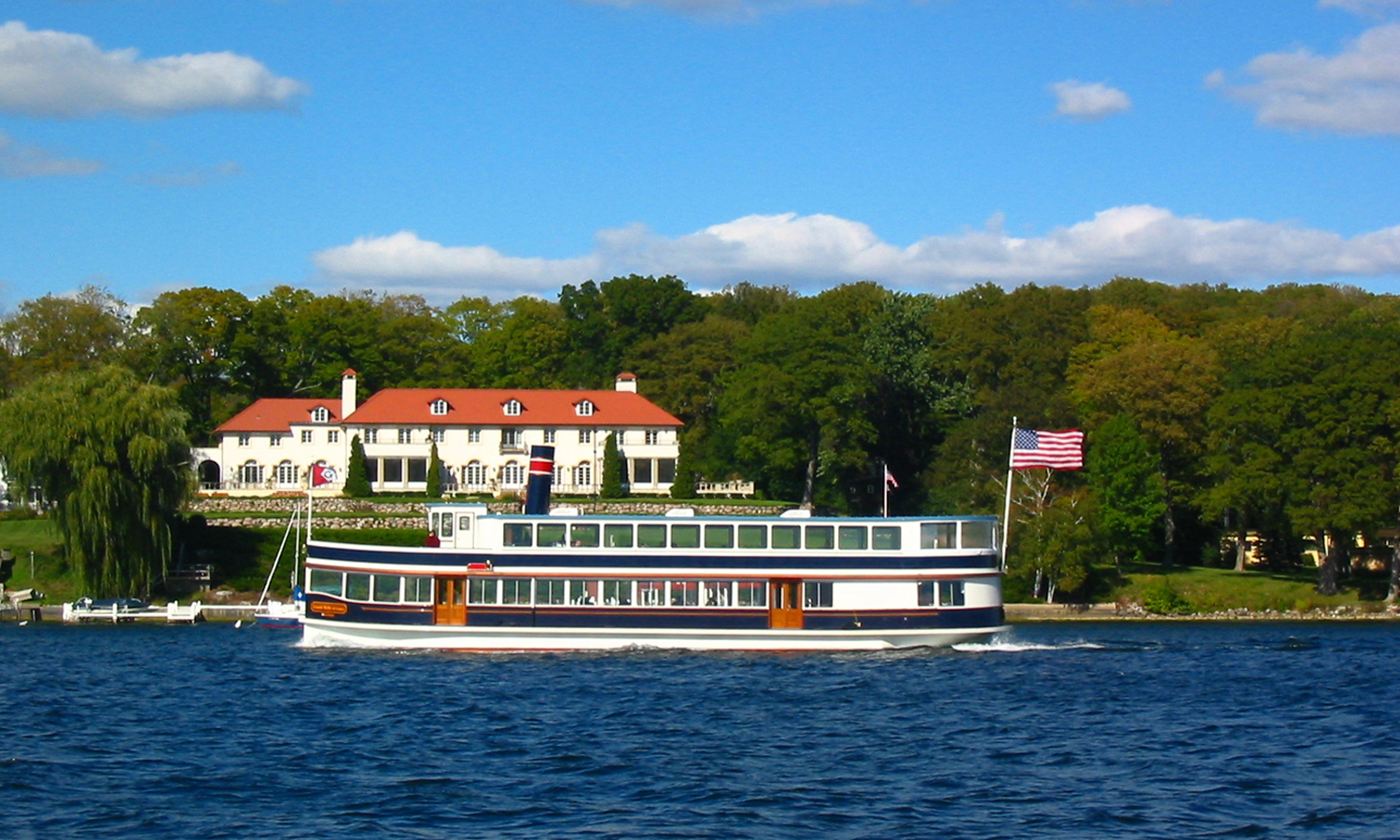 Take a Boat Tour with Lake Geneva Cruise Line