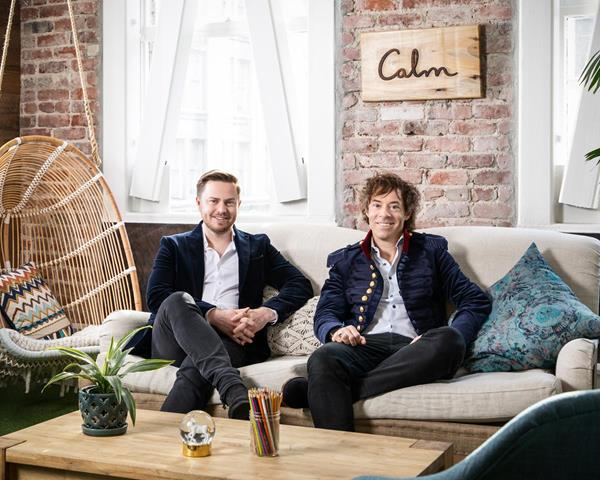 Calm co-founders and co-CEOs _2