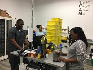 PharmCo's staff filled and delivered thousands of medications prior to Hurricane Irma's arrival.