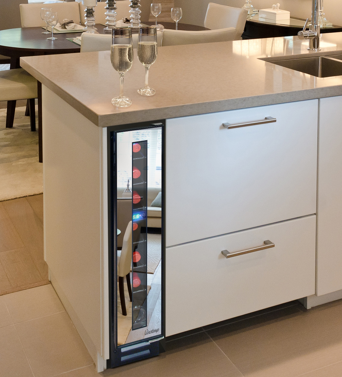 Attrayant Meredith Corporationu0027s Beautiful Kitchens U0026 Baths To Recognize Vinotempu0027s  7 Bottle Mirrored Wine Cooler As One Of Its 30 Most Innovative Products For  2016 ...