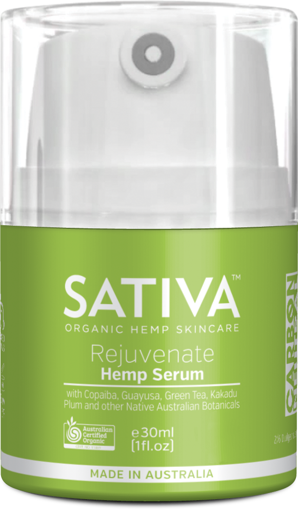 SATIVA Rejuvenate Serum Elixinol Skin Care