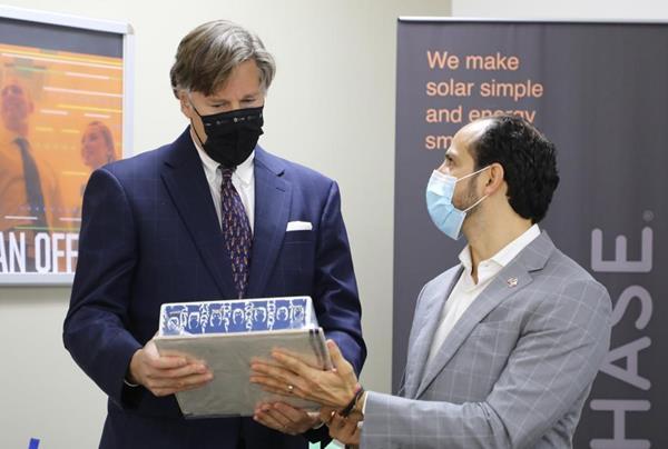 Ambassador Landau Visit to Flex Mexico Facility_9.24.20