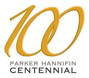 Parker Centennial Logo