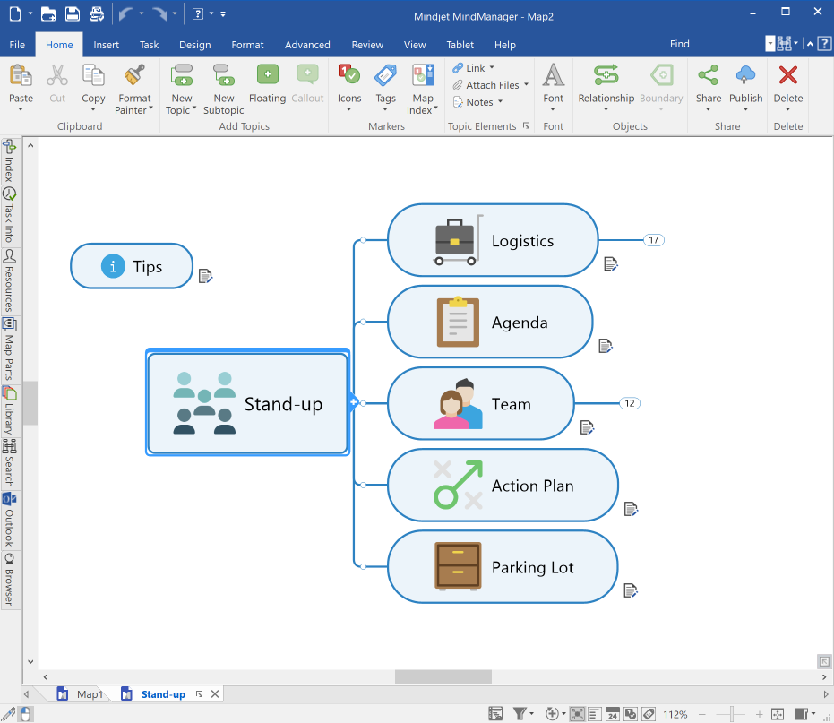MindManager 2019 Enhanced Usability