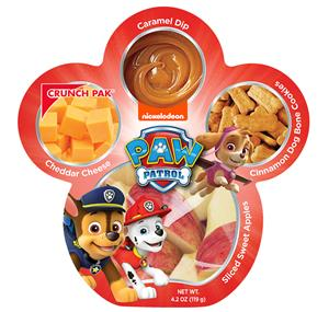 PAW Patrol-themed snack pack by Crunch Pak