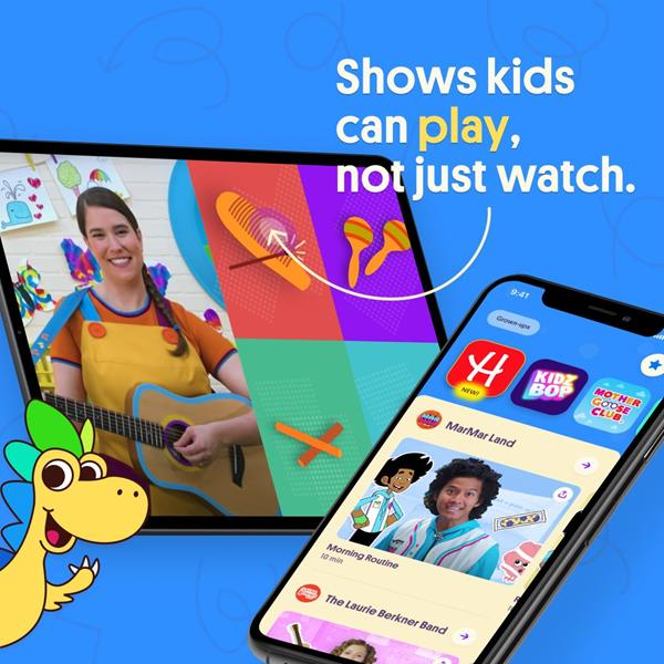 Shows kids can play, not just watch