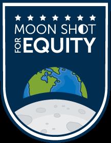 Moon Shot for Equity logo