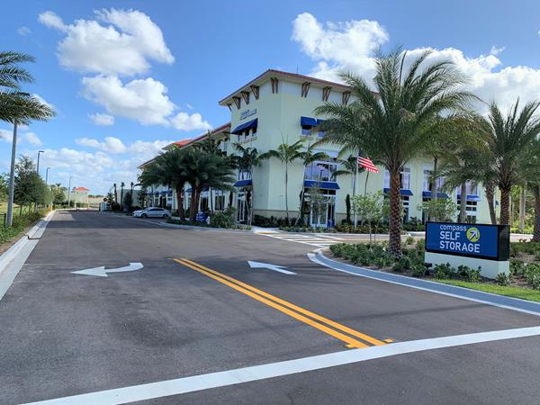 Compass Self Storage has completed construction on their newest flagship self storage center, located in Jupiter, Florida.