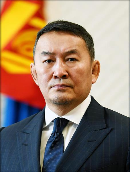 Khaltmaagiin Battulga - Mongolian President