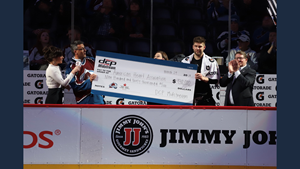 DCP Midstream Presents $930,000 to the American Heart Association at Colorado Avalanche Game