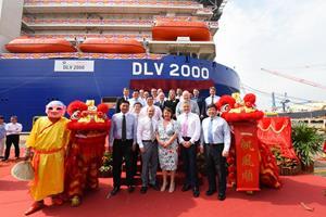 Naming ceremony for DLV2000