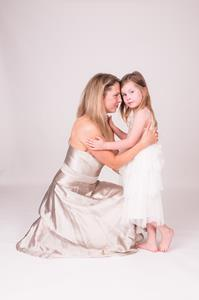 Jennifer White and Olivia Grace White