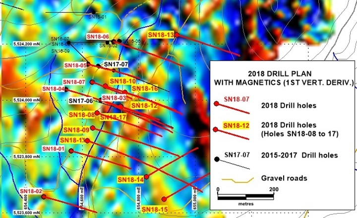 2018 Drill Plan With Magnetics