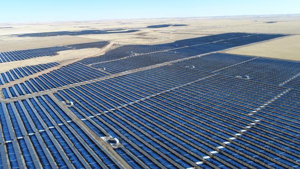 Canada's largest solar facility