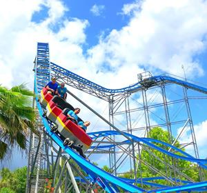 Fun Spot America's Kissimmee new coaster launching soon.