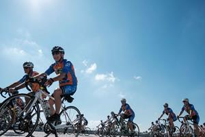 The 13th annual 48-HOUR RIDE in support of Make-A-Wish® Quebec