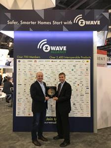 Vivint is recipient of 100 Millionth Z-Wave module shipped