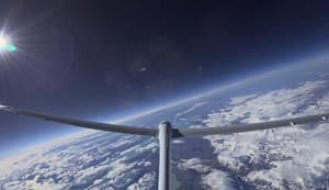 Airbus Perlan Mission II -- at 52,172 feet