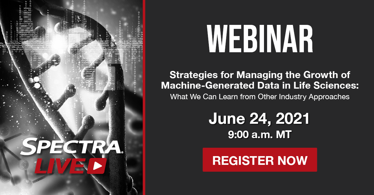 Spectra Logic Announces Details for Upcoming Webinar on How to Manage Exponential Growth of Machine-Generated Data in Life Sciences