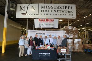 Smithfield Foods Helping Hungry Homes – Jackson, MS